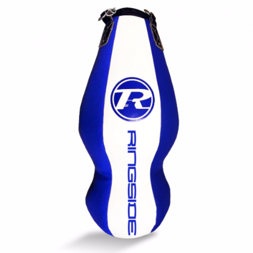 Ringside Synthetic Leather Double End Punchbag - Blue/White